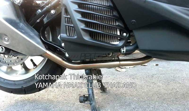 Modifikasi Yamaha NMAX 155 pakai knalpot Ninja 250 FI Makin Keren 05 Pertamax7.com