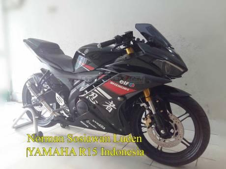 Modifikasi Yamaha R15 pakai lampu R25 ini Sadis 01 Pertamax7.com