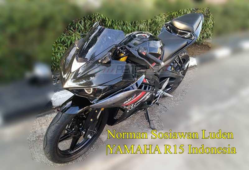 Modifikasi Yamaha R15 pakai lampu R25 ini Sadis 03 Pertamax7.com