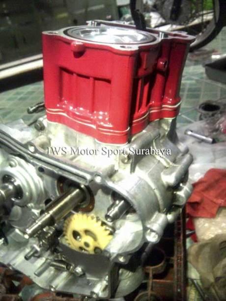 Modifikasi Yamaha Vixion Bored Up Stroke Up tembus 285 cc Karya IWSmotor SUrabaya 03 Pertamax7.com