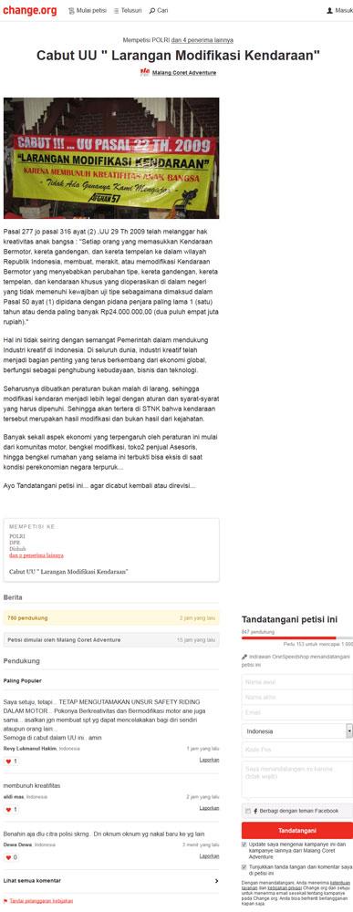 Muncul-Petisi-Online-Cabut-Undang-Undang-Modifikasi-sembarangan-Denda-Rp.24-juta--pertamax7.com-