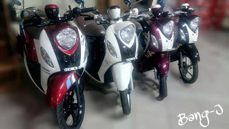 Nih Yamaha Mio Fino 125 Blue Core sudah Distribusi ke Diler, Siap di Jual  01 Pertamax7.com
