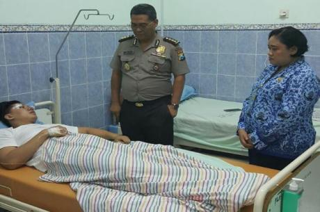 Pengendara Lamborghini maut di rawat di rumah sakit pertamax7.com