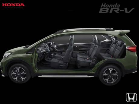 Rangka Honda BR-V SUV 7 seater pertamax7.com