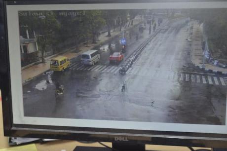 rekaman cctv Kronologi Ferrari dalam Kecelakaan Lamborgini Maut STMJ Surabaya pertamax7.com