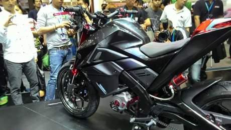 Sangarnya Modifikasi Yamaha M-Slaz MT15 Hitam di Thailand 01 Pertamax7.com