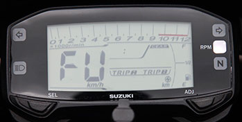 speedometer suzuki satria F injeksi bisa sapa FU ready go pertamax7.com