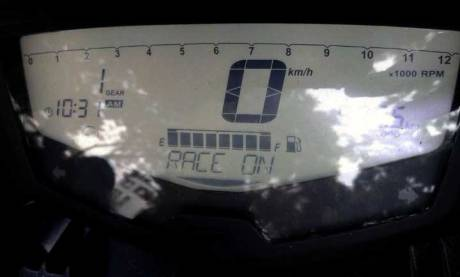speedometer TVS apache RTR 200 race on 2016 pertamax7.com