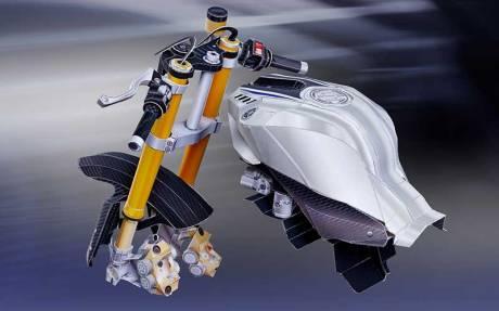 steering & tank (steering, tank, intake) PaperCraft Yamaha YZF-R1M 01 Pertamax7.com