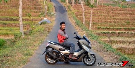 Testride Yamaha NMAX 155 ABS, Handling Mantabh Pengereman Akurat.. Tabungan Alamat 07 Pertamax7.com