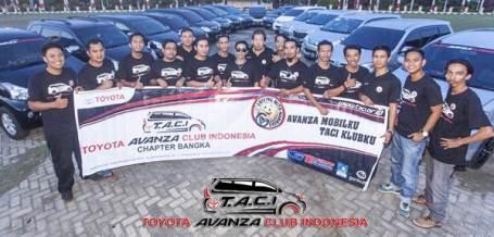 Toyota Avanza Club Indonesia Chapter Bangka Belitung Resmi Berdiri 06 pertamax7.com
