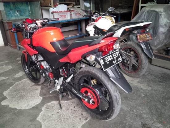 Uji Gear Sinnob versi BELT masih berlanjut, dipasang di Honda CB150R dan Tiger hadapi Hujan lumpur dan dikasih Oli  00 pertamax7.com