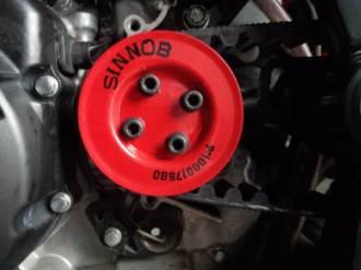 Uji Gear Sinnob versi BELT masih berlanjut, dipasang di Honda CB150R dan Tiger hadapi Hujan lumpur dan dikasih Oli 17 pertamax7.com