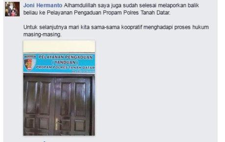 Video Menanyakan Surat Razia, Netizen Ini Cekcok Dan Dilaporkan Ke Sat Reskrim Oleh Polisi.... Lapor Balik Ke Propam pertamax7.com 3