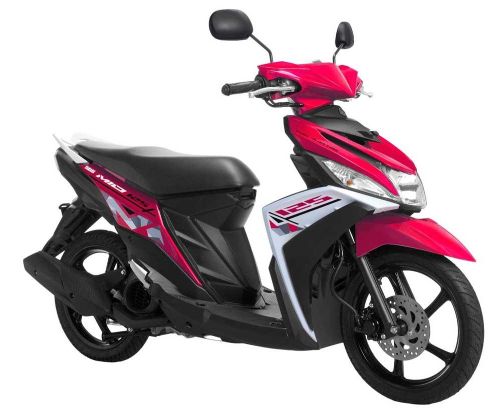 Warna baru Yamaha Mio-M3-Courageous-Pink Pertamax7.com