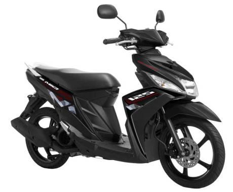 Warna baru Yamaha Mio-M3-Passionate-Black Pertamax7.com