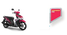 warna yamaha Mio M3 pink 2016 pertamax7.com