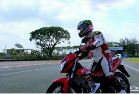 Wuih Jorge Lorenzo geber New Honda RS150 aka Sonic di Filipina [ TVC ] pertamax7.com