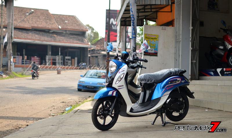 Yamaha Mio Fino 125 Sudah Sampai Young Motor Wonogiri, Harga Rp.16,8 Juta Saja Om [ Galleri Foto ] 01 Pertamax7.com