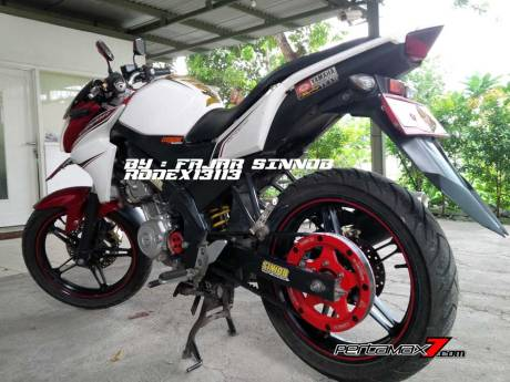 Yamaha New Vixion Pakai Sinnob BELT ini keren, eits Masih Prototype Belum dijual 01 Pertamax7.com