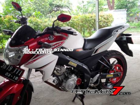 Yamaha New Vixion Pakai Sinnob BELT ini keren, eits Masih Prototype Belum dijual 02 Pertamax7.com
