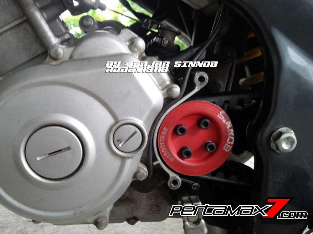 Yamaha New Vixion Pakai Sinnob BELT ini keren, eits Masih Prototype Belum dijual 03 Pertamax7.com