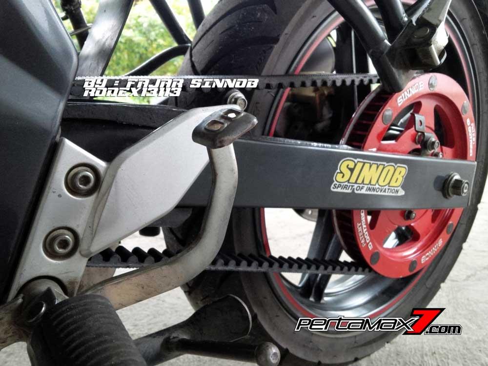 Yamaha New Vixion Pakai Sinnob BELT ini keren, eits Masih Prototype Belum dijual 05 Pertamax7.com
