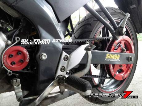 Yamaha New Vixion Pakai Sinnob BELT ini keren, eits Masih Prototype Belum dijual 06 Pertamax7.com