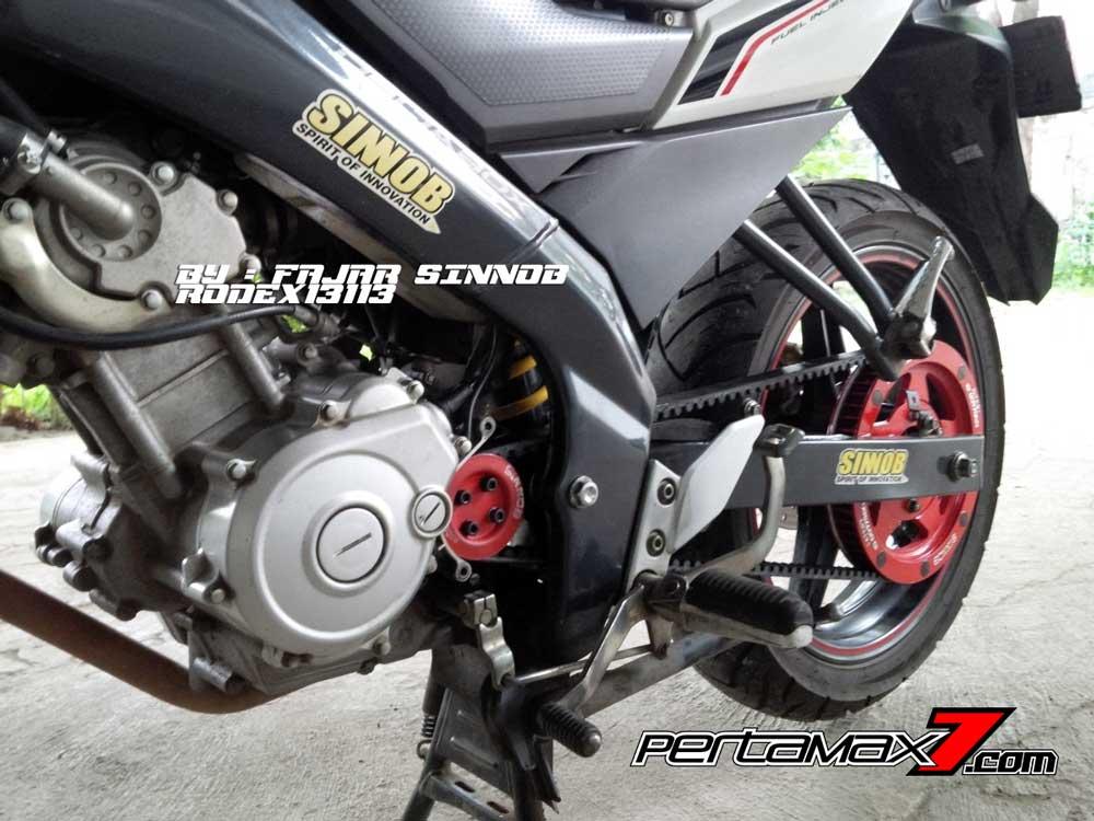 Yamaha New Vixion Pakai Sinnob BELT ini keren, eits Masih Prototype Belum dijual 07 Pertamax7.com