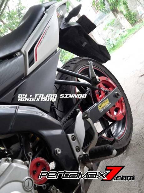 Yamaha New Vixion Pakai Sinnob BELT ini keren, eits Masih Prototype Belum dijual 08 Pertamax7.com