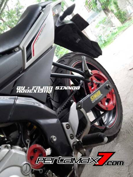 Yamaha New Vixion Pakai Sinnob BELT ini keren, eits Masih Prototype Belum dijual 08 Pertamax7.com