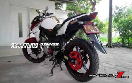 Yamaha New Vixion Pakai Sinnob BELT ini keren, eits Masih Prototype Belum dijual 09 Pertamax7.com