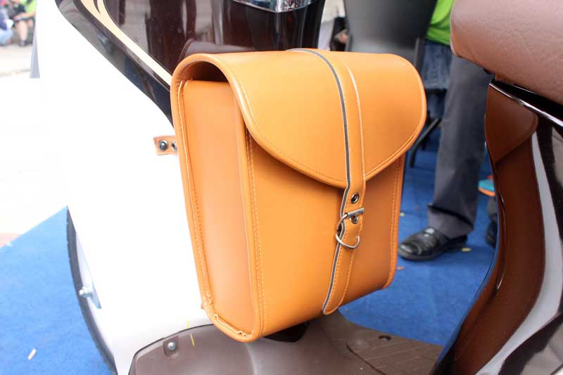 Centre Bag Brown Aksesoris Yamaha Fino 125 Blue core 06 Pertamax7.com