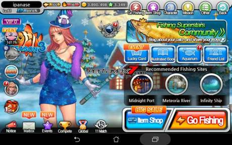 fishing superstar Asus ZenPad 7.007 Pertamax7.com