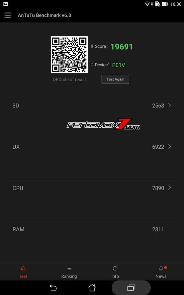 hasil antutu bechmark v6.0 Asus ZenPad 7.004 Pertamax7.com