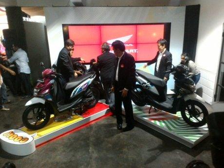Honda Beat Pop eSP Comic Hits dan Cool Pixel resmi Meluncur, Striping saja kok 01 Pertamax7.com