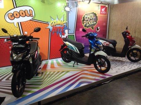 Honda Beat Pop eSP Comic Hits dan Cool Pixel resmi Meluncur, Striping saja kok pertamax7.com