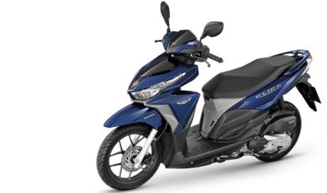 Honda Thailand Segarkan Click 125 dengan Baju Dual Tone, sedap,, AHM...Vario 125 dan 150 kapan nih01 Pertamax7.com