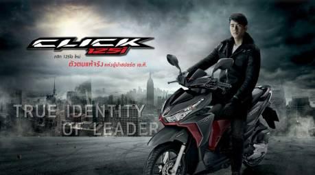 Honda Thailand Segarkan Click 125 dengan Baju Dual Tone, sedap,, AHM...Vario 125 dan 150 kapan nih10 Pertamax7.com