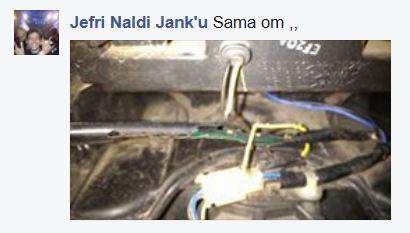 Kabel Body Yamaha NMAX dimakan Tikus.. Kasih Kapur Barus pertamax7.com 2