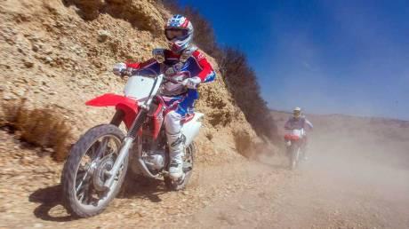 Kenalan Dengan Honda CRF150F, Motor Khusus Off-Road Bermesin Mirip New Megapro Musuhnya Kawasaki KLX 140 Nih 04 Pertamax7.com
