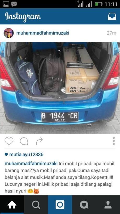 Mobil Pribadi Di Tilang Karena Bawa Barang Jadi Sorotan Netizen pertamax7.com