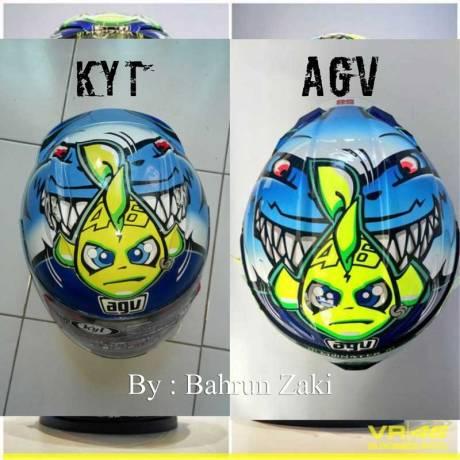 Modifikasi Helm KYT RC7 ala Hiu AGV Special Misano 2015, cakep modal Rp.200 rebu Instasize_1224191723 Pertamax7.com