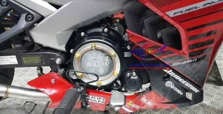 Modifikasi Yamaha EXCITER Aka Jupiter MX 150 Pakai Cover Crankcase Tembus Pandang, Bisa Buat Vixion Dan R15...Keren 03 Pertamax7.com