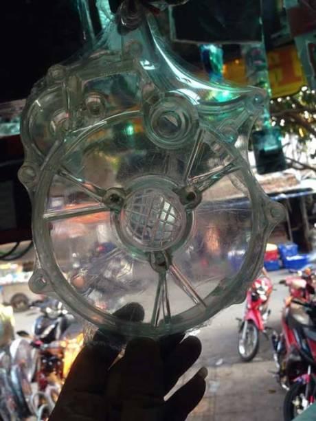 Modifikasi Yamaha EXCITER Aka Jupiter MX 150 Pakai Cover Crankcase Tembus Pandang, Bisa Buat Vixion Dan R15...Keren 04 Pertamax7.com