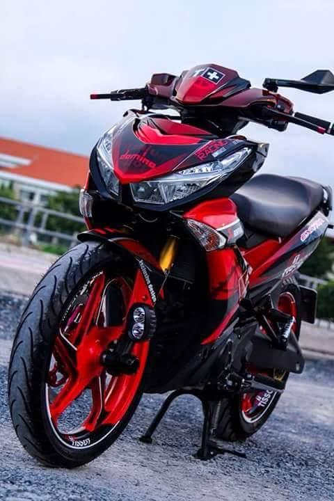Modifikasi Yamaha Jupiter MX KING 150 pakai Headlamp Honda Vario 150, Tampan dan Pemberani pertamax7.com 2