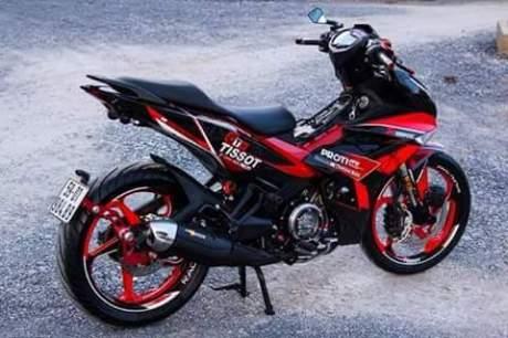 Modifikasi Yamaha Jupiter MX KING 150 pakai Headlamp Honda Vario 150, Tampan dan Pemberani  pertamax7.com 3