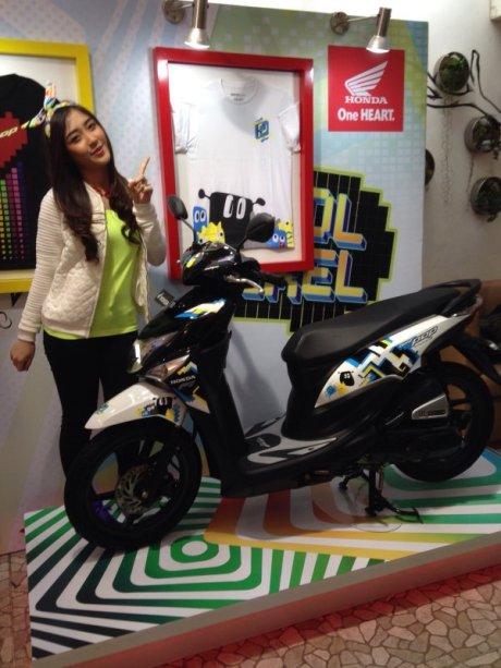 naomi jkt48 honda beat pop cool pixel pertamax7.com