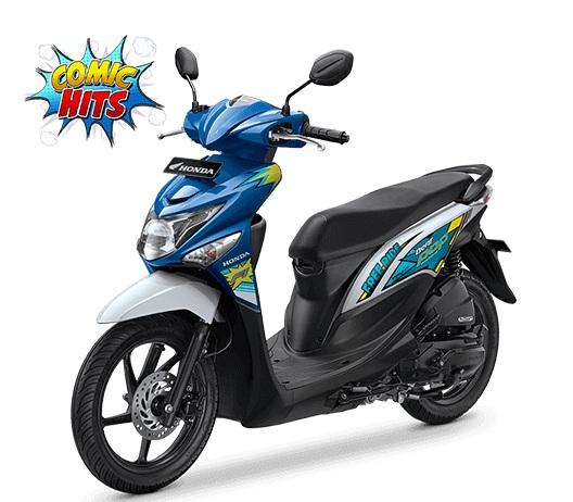 Nih Foto Studio Honda Beat Pop eSP Comic Hits dan Cool Pixel, Pilih Yang Mana Om 01 Pertamax7.com