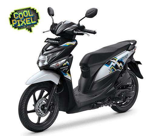 Nih Foto Studio Honda Beat Pop eSP Comic Hits dan Cool Pixel, Pilih Yang Mana Om 05 Pertamax7.com